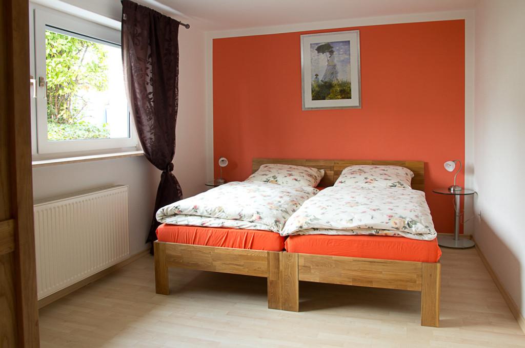 Schlafzimmer - Bensheim - Ferienwohnung