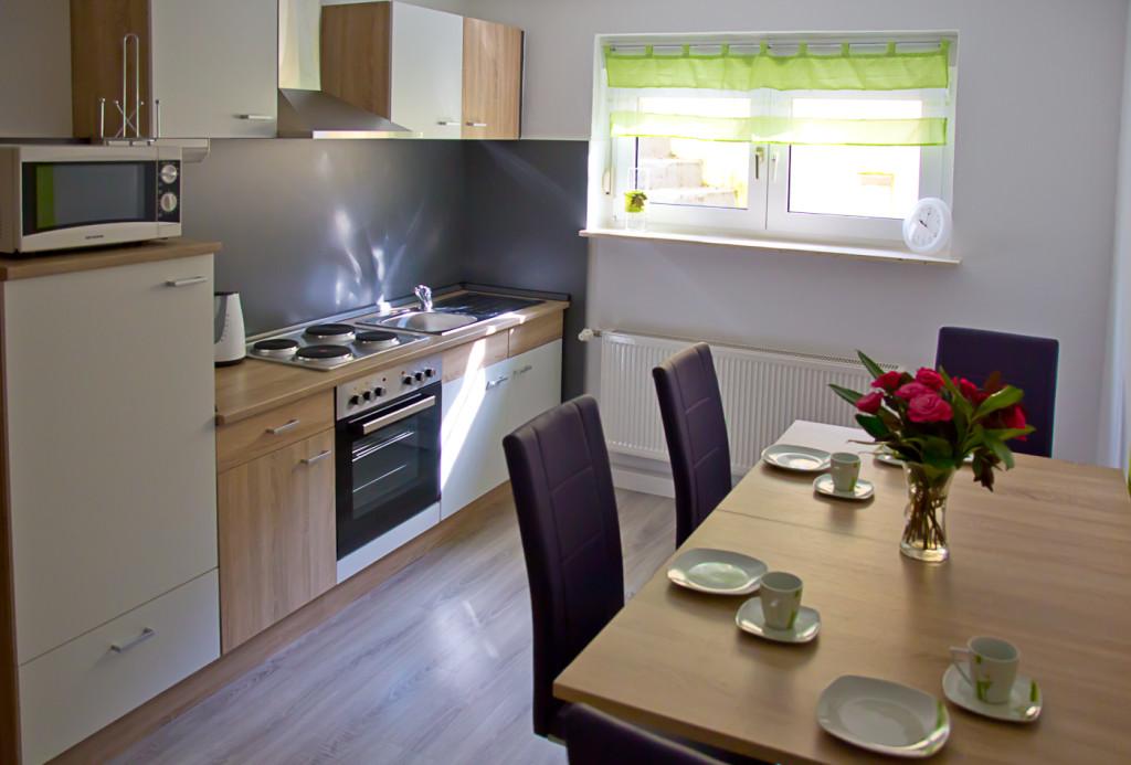 Bensheim Ferienwohnung am Hemsberg Küche