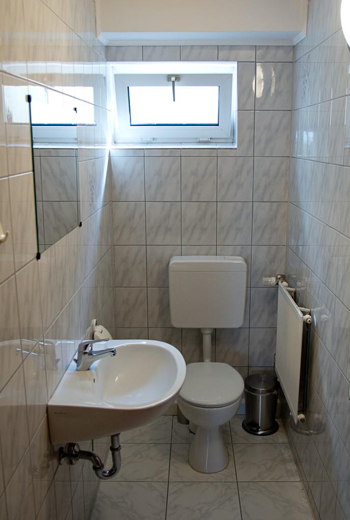Toilette Ferienwohnung